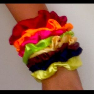 Shein: Assorted Scrunchies Pack of 11